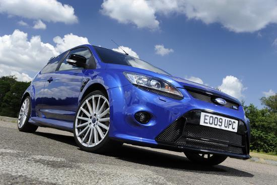 Ford Focus RS 2009-Simon Clay-Photographic Print