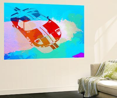 Ford Gt Watercolor-NaxArt-Wall Mural