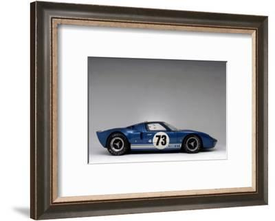 Ford GT40 Daytona prototype 1965-Simon Clay-Framed Photographic Print