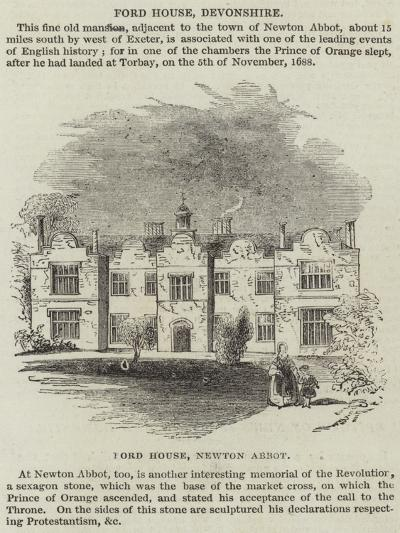 Ford House, Devonshire--Giclee Print