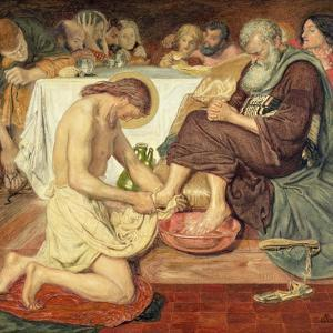 Jesus Washing Peter's Feet, 1876 by Ford Madox Brown