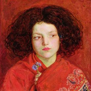 The Irish Girl, 1860 by Ford Madox Brown