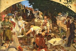 Work, 1852-65 by Ford Madox Brown