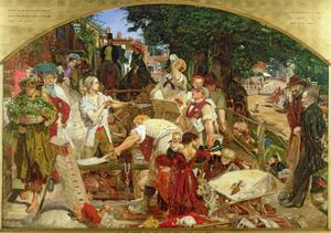 Work', 1852-65 by Ford Madox Brown