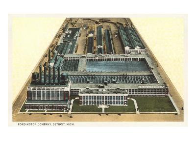 Ford Motor Company, Detroit, Michigan--Art Print