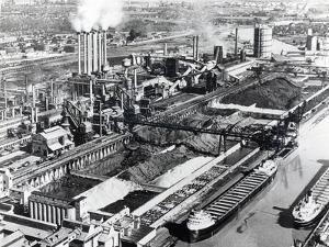 Ford Motor Company, River Rouge Plant, Dearborn, Michigan, Early 1950S