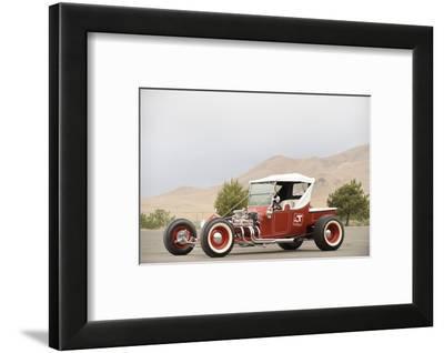 Ford the big t show Custom rod 1923-Simon Clay-Framed Photographic Print