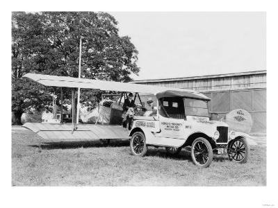Ford Towing Plane--Art Print