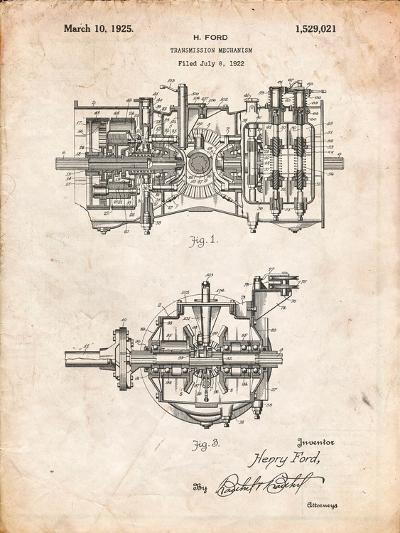 Ford Transmission-Cole Borders-Art Print