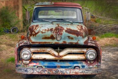 Ford Truck Front-Bob Rouse-Photographic Print