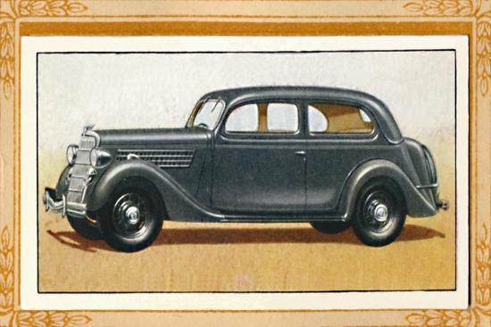 Ford V-Eight 22 Touring Saloon', c1936-Unknown-Giclee Print