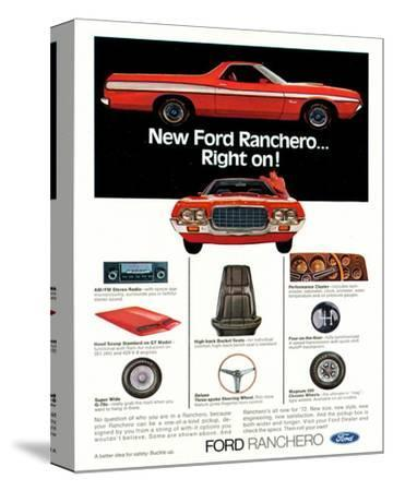Ford1972 Ranchero... Right On!