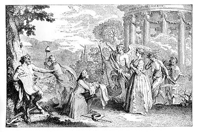 Fore-Warned, Fore-Armed, 1741-E Gravelot-Giclee Print