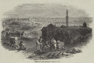 Foreign Corn Ports, Alexandria--Giclee Print