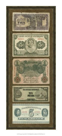 Foreign Currency Panel I--Art Print
