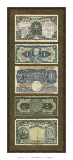 Foreign Currency Panel II--Art Print