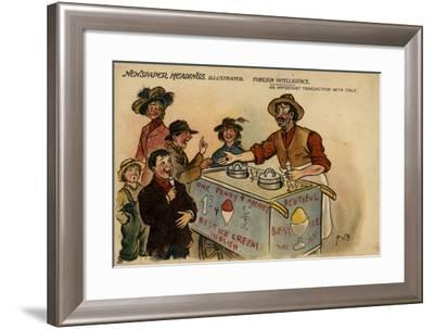 Foreign Intelligence, an Important Transaction with Italy--Framed Giclee Print