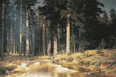Forest, 1898-Ivan Ivanovitch Shishkin-Giclee Print