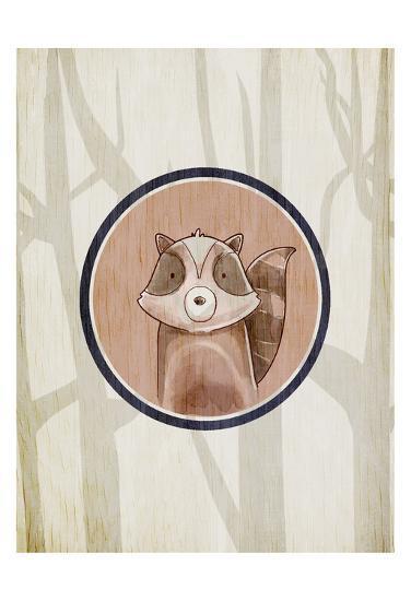 Forest Animals 1-Kimberly Allen-Art Print