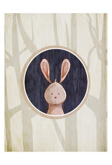 Forest Animals 4-Kimberly Allen-Art Print