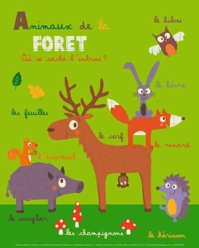 Forest Animals-Isabelle Jacque-Art Print
