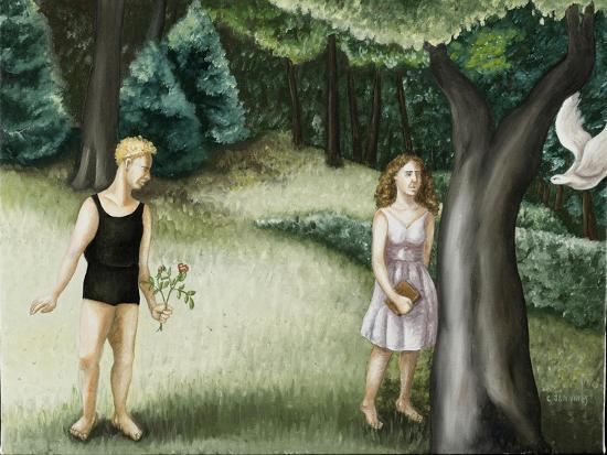 Forest Annunciation, 2, 2006-Caroline Jennings-Giclee Print