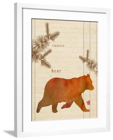 Forest Bear-Z Studio-Framed Art Print