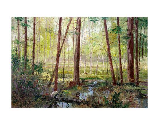 Forest Edge-Robert Moore-Art Print
