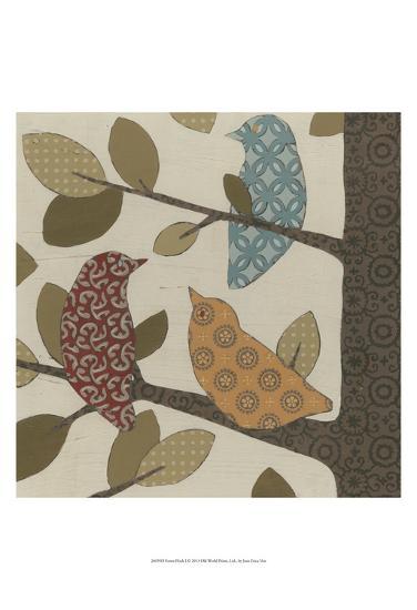 Forest Flock I-Erica J^ Vess-Art Print