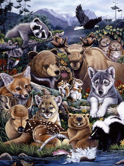 Forest Friends-Jenny Newland-Giclee Print