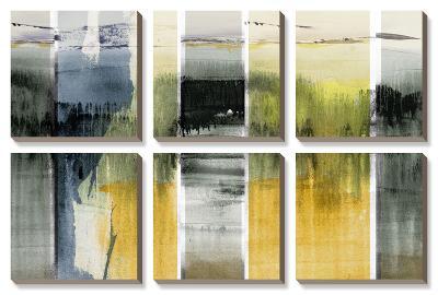 Forest Horizon II-Sisa Jasper-Canvas Art Set