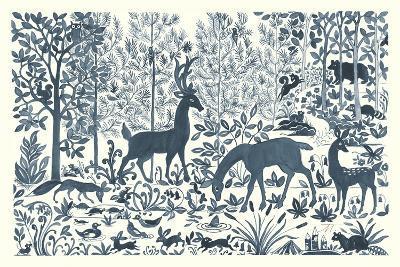 Forest Life I-Miranda Thomas-Art Print