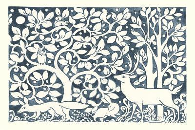 Forest Life IV-Miranda Thomas-Art Print