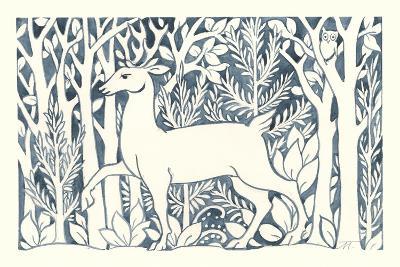 Forest Life V-Miranda Thomas-Art Print