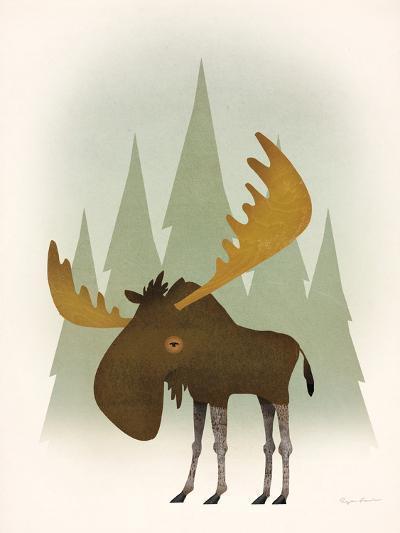 Forest Moose-Ryan Fowler-Art Print