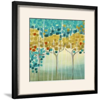 Forest Mosaic I-Erica J^ Vess-Framed Photographic Print