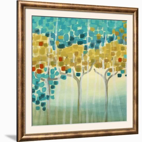 Forest Mosaic I-Erica J. Vess-Framed Photographic Print