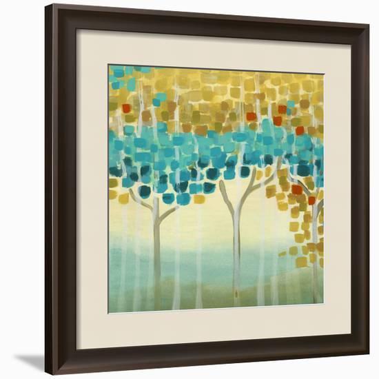 Forest Mosaic II-Erica J. Vess-Framed Giclee Print