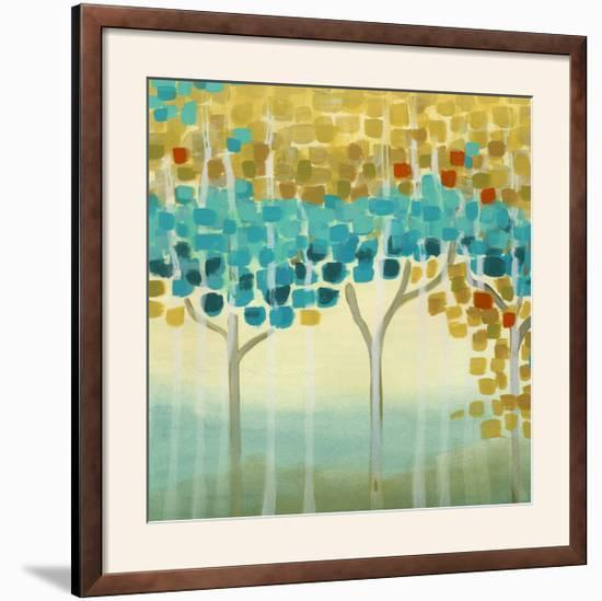Forest Mosaic II-Erica J. Vess-Framed Photographic Print