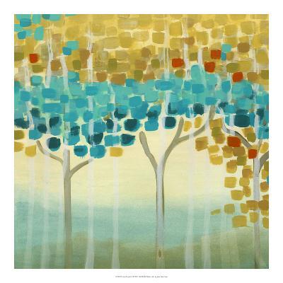 Forest Mosaic II-Erica J^ Vess-Art Print