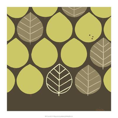 Forest Motif I-Erica J^ Vess-Art Print