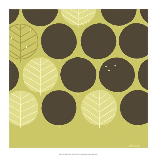 Forest Motif III-Erica J^ Vess-Art Print