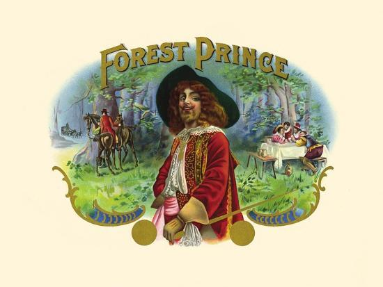 Forest Prince--Art Print