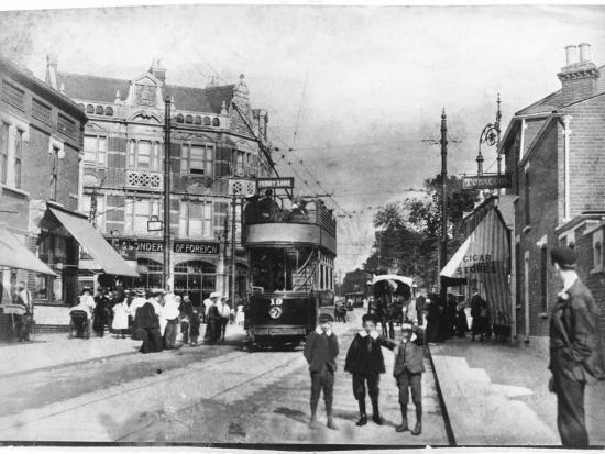 Forest Road, Walthamstow, London Borough of Waltham Forest--Photographic Print
