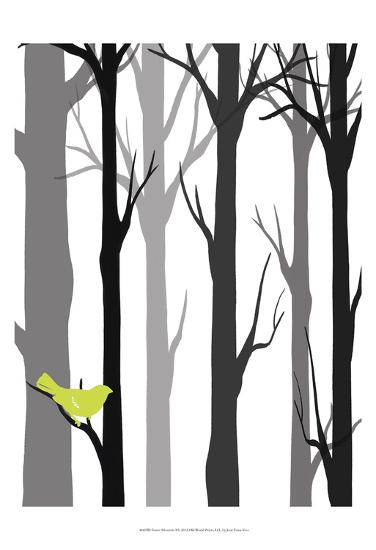 Forest Silhouette I-Erica J^ Vess-Art Print