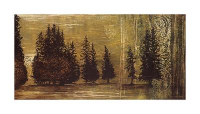 Forest Silhouettes I-Linda Thompson-Giclee Print