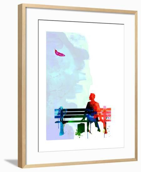 Forest Watercolor 2-Lora Feldman-Framed Art Print