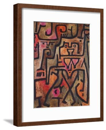 Forest Witches, 1938-Paul Klee-Framed Art Print
