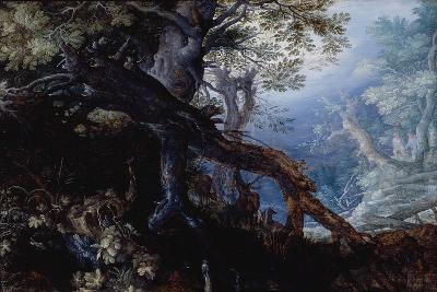 Forest with Deer, C.1608-10-Roelandt Jacobsz^ Savery-Giclee Print