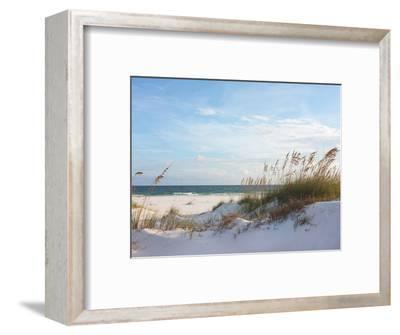 Sand Dunes and Ocean at Sunset, Pensacola, Florida.